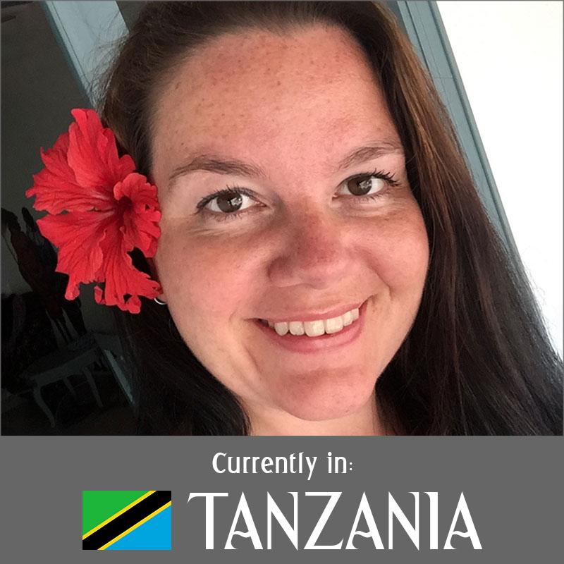 Currently in Tanzania