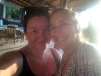 Heather and I