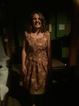 Beaurah made a dress for Luisa