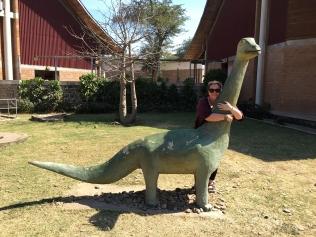 Not the Malawisaurus, bt it gets a hug