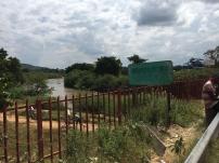 The bridge across to Tanzania