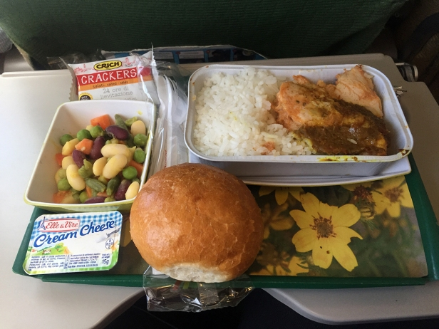 Plane food... For once, not so bad...
