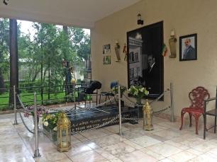 Meles Zenawi's grave