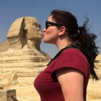 Me and the Sphinx getting intimate