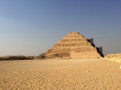 Saqqara pyramid of Djoser in Egypt