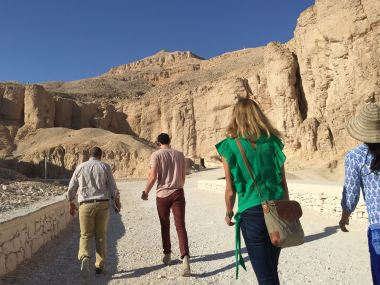 The valley of the Kings - Photos not allowed