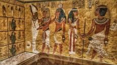 Jennifer captured this inside Tutankhamon's tomb <3