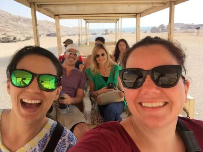 Going to Hatshepsut's temple