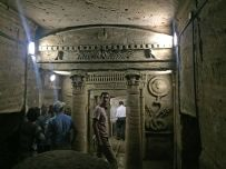 The catacombs of Alexandria