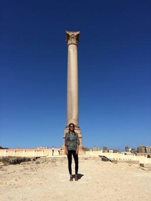 Pompay's Pillar Fabiola