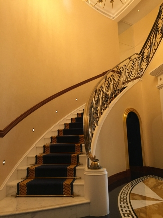 Staircase up to the second floor