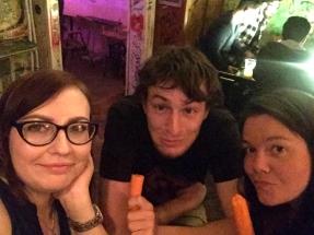 Greta, Bin and Annie