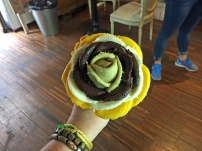Ice cream flower - four flavours
