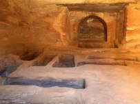 Royal tombs, now empty