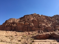 Royal tombs in the mountain