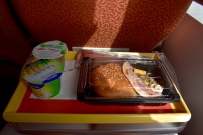 "The ""deluxe lunch"" on the ferry back to Hong Kong"