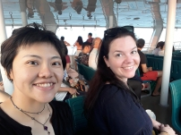 On the ferry to Cijin