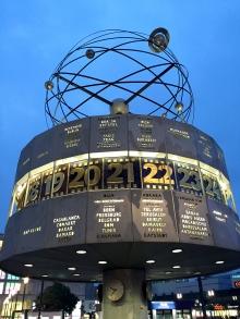 Alexanderplatz Global Clock
