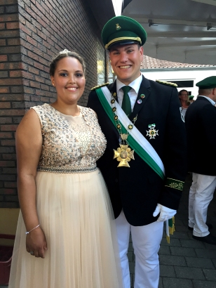 Juli and Domi - King and Queen