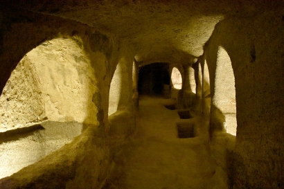 The Catacombs of Milos