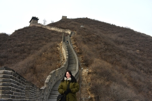 Feeling history at the Great Wall