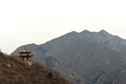 View from the Great Wall of China