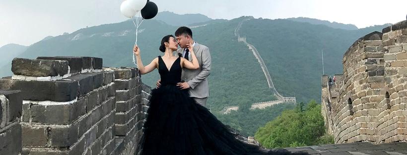 Wedding shoot at the Great Wall