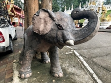 Elephant statue... that's all really