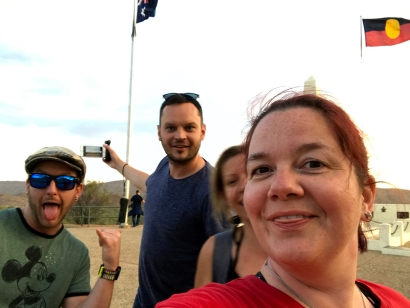 Anzac Hill with the gang <3