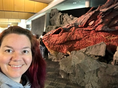 Smaug and I <3