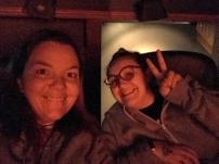 Daniella and I at the movies
