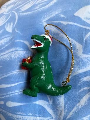 Christmas T-Rex