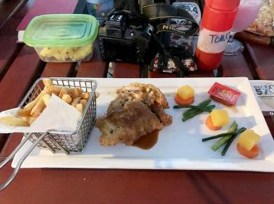 Chicken Kiev for dinner