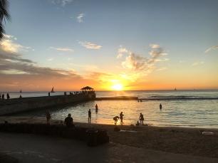 Sunsets in Waikiki <3