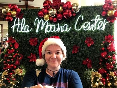 Meli Kalikimaka from Honolulu's biggest shopping center