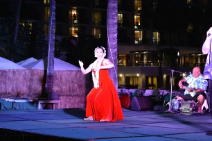 The love song (with hula)