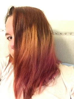My Australian hair dye not so nice anymore
