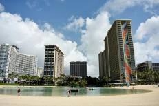 Hawaiian Hilton Village Lagoon