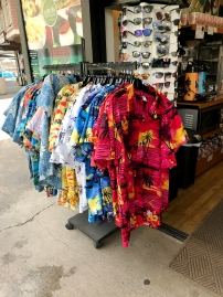 The Hawaii shirts... Blue for Andreas, red for Eystein <3
