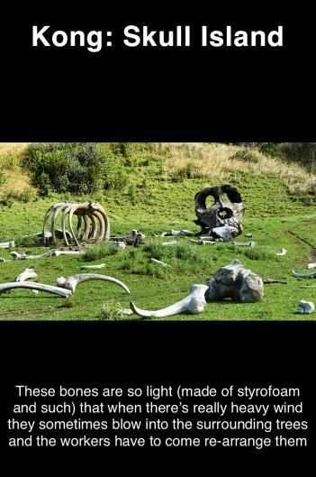 Kong: Skull Island props