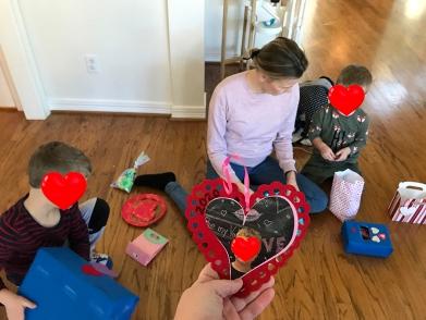 Valentine's even in kindergarten