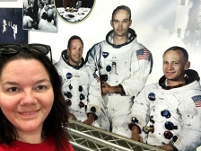 Neil Armstrong and I. Mean to be.
