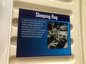 Space sleeping bag