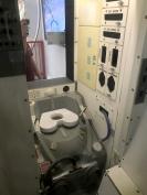 Space toilet!