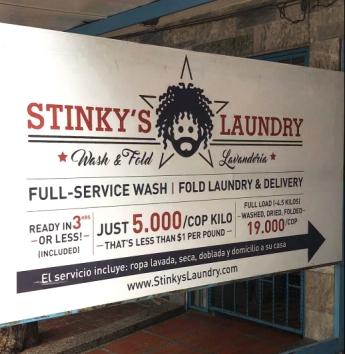 Stinky's Laundry
